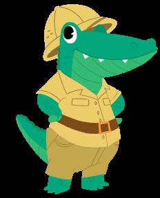 loonylearn aligator